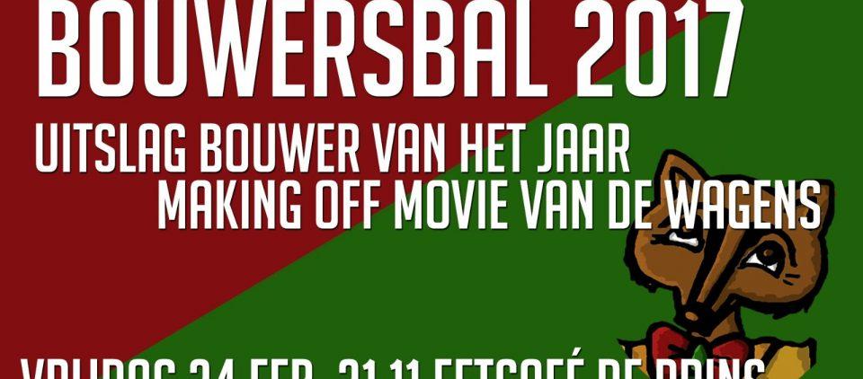 Bouwersbal 2017!